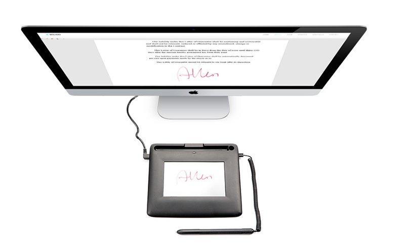 sign pad 21.5 trendy design Ugee Brand signature pad