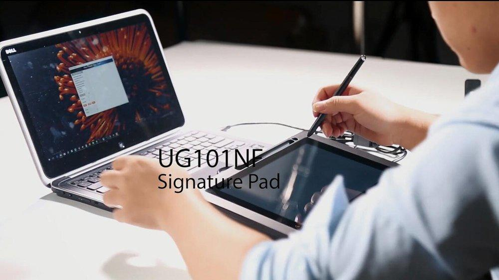 UG101NF Single Touch Screen Signature Pad