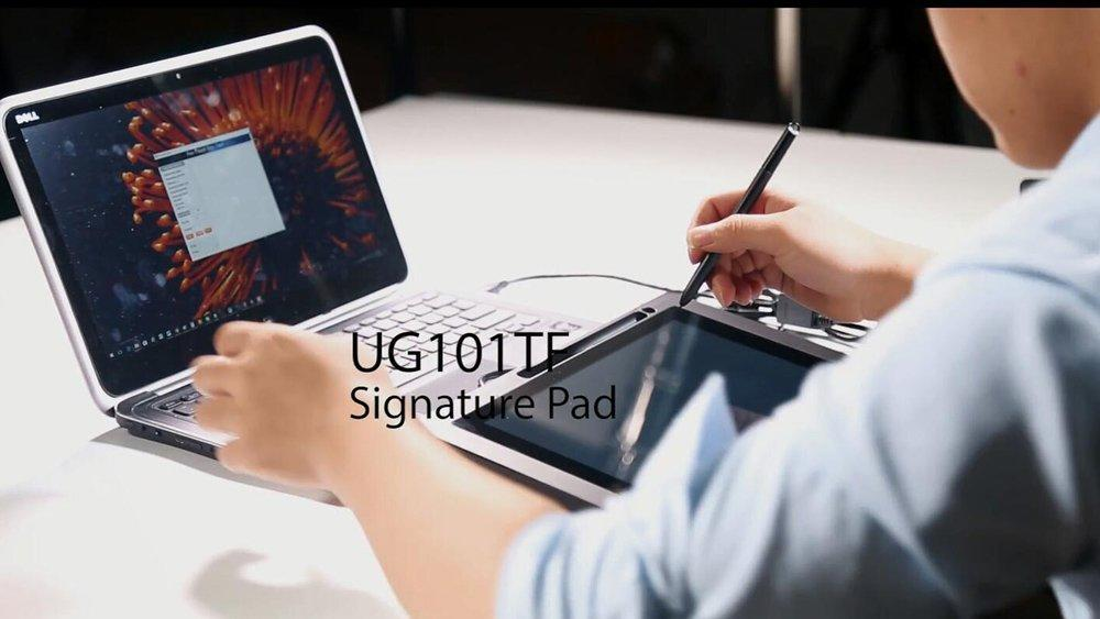 UG101TF Dual Touch Screen Signature Pad