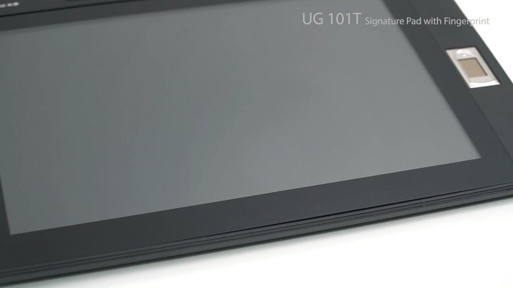 UG101T Signature Pad with Fingerprint Recognition-Ugee