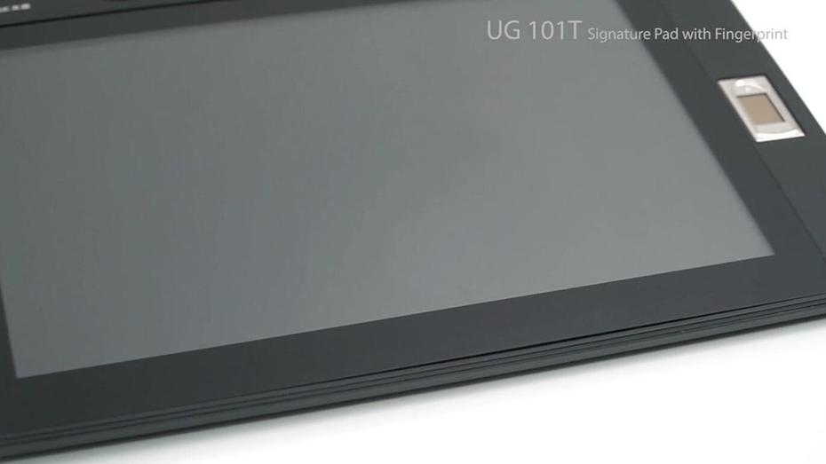UG101T Signature Pad with Fingerprint Recognition