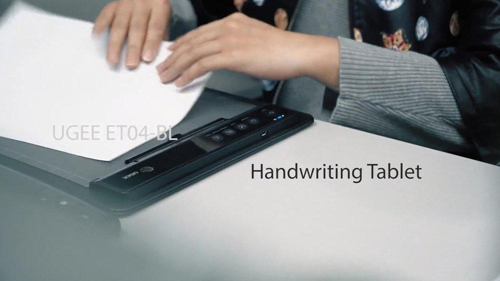 ET04BL Handwriting Graphic Tablet