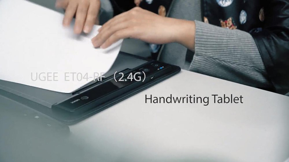 ET04RF(2.4G) Handwriting Graphic Tablet-Ugee