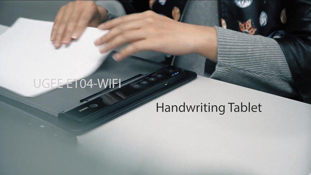 ET04WF Handwriting Graphic Tablet