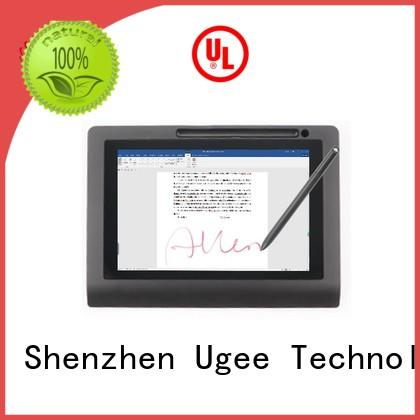 Ugee Brand new hot sale sign pad inch supplier