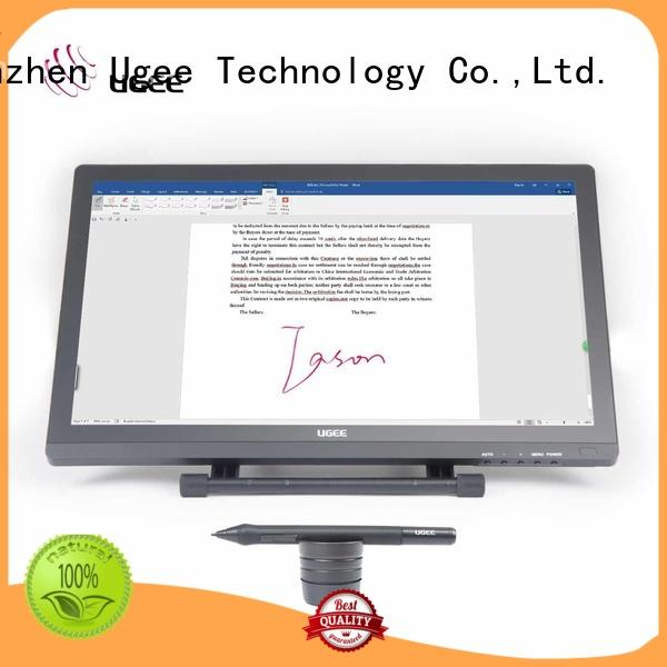 Custom digital signature pad monitor Ugee