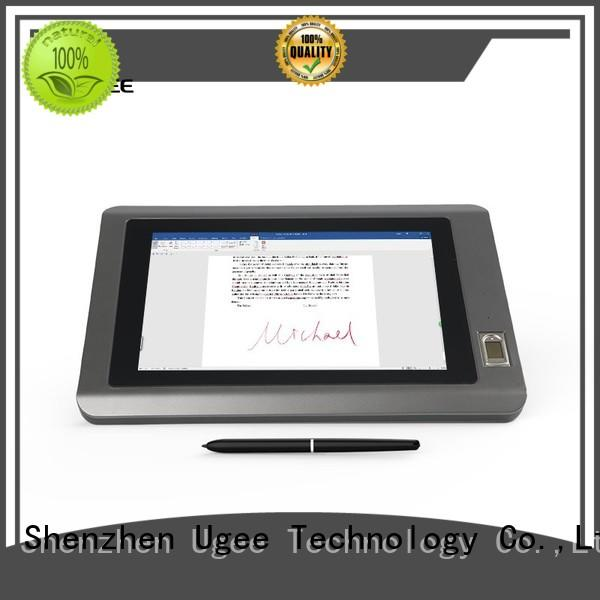 usb passive hot selling handwriting tablet Ugee Brand
