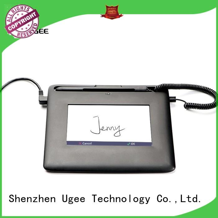 sign pad 19.1 screen Ugee Brand company