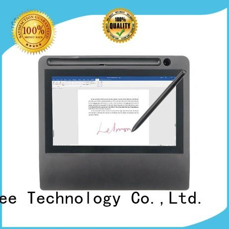 digital identification pad signature pad monitor Ugee Brand