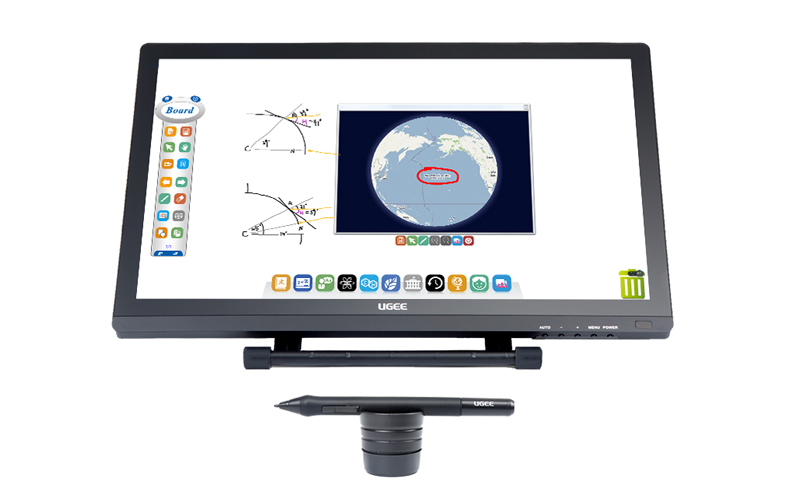 Ugee-215 Inch Ips Lcd Screen Digital Writing Clipboard Monitor Ug2150-3