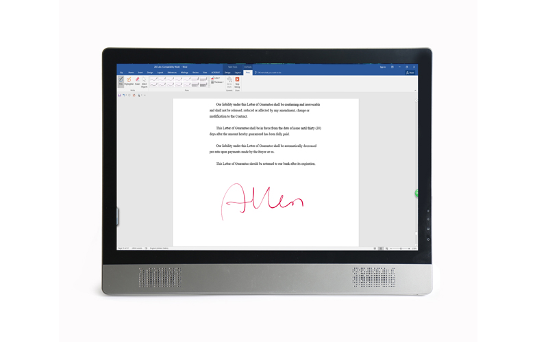 Ugee-215 Inch Emr Technology All-in-one Pc Ug22 | Digital Handwriting-3