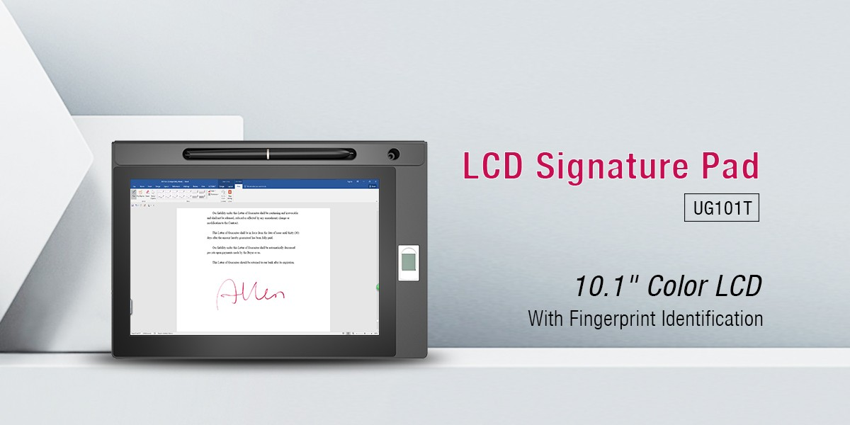 Ugee-Find Signature Capture Pad and Biometric Signature Pad From Ugee