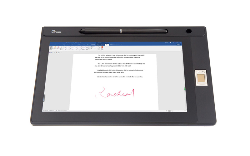 Ugee-Find Signature Capture Pad and Biometric Signature Pad From Ugee-2