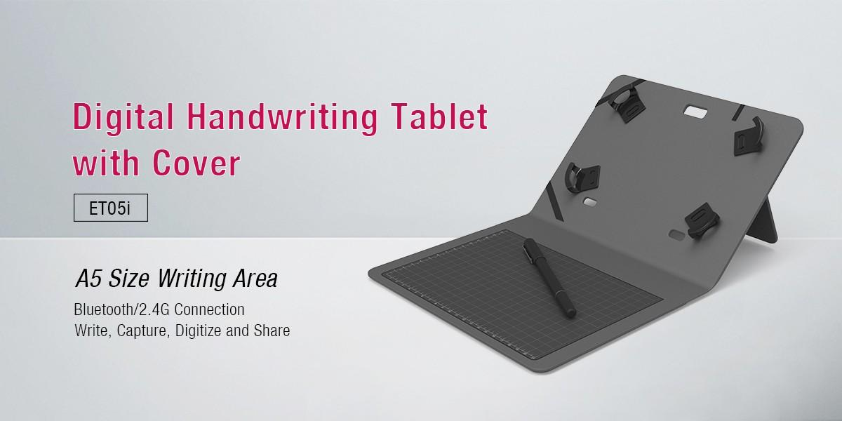Ugee-A5 Size Bluetooth 24g Handwriting Tablet With Cover Et05i - Ugee Technology