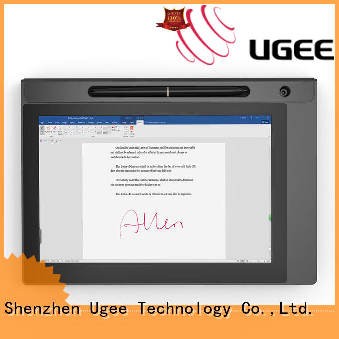 Ugee highlights signature pad for pc supplier for commercial activity