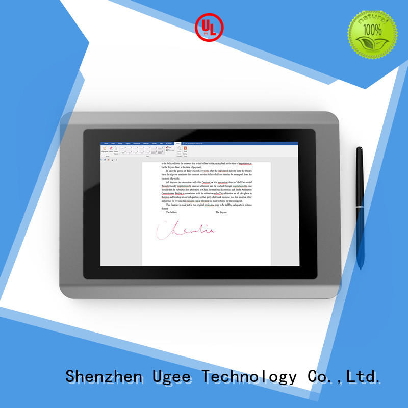 best tablet for writing pen 2.4g tft Ugee Brand company