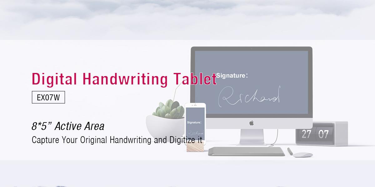Ugee-85 Inch Digital Handwriting Pads 24g Wireless Pad