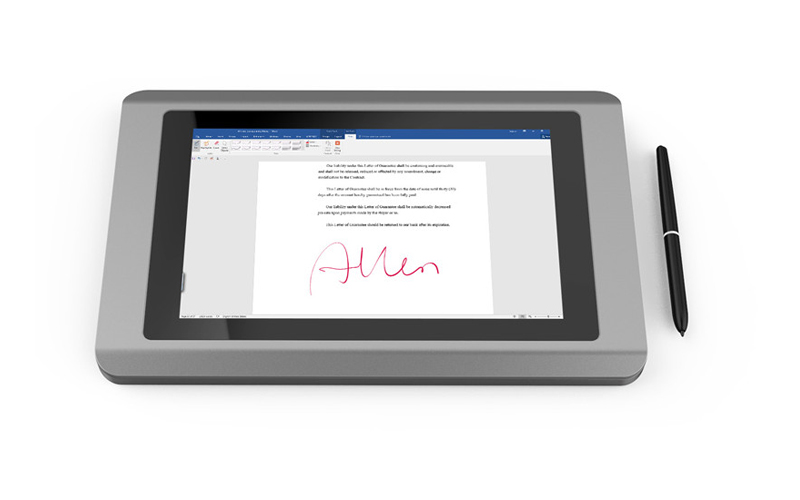 Ugee-101 Inch Color Lcd Signature Pad Ug101tf | React Signature-2