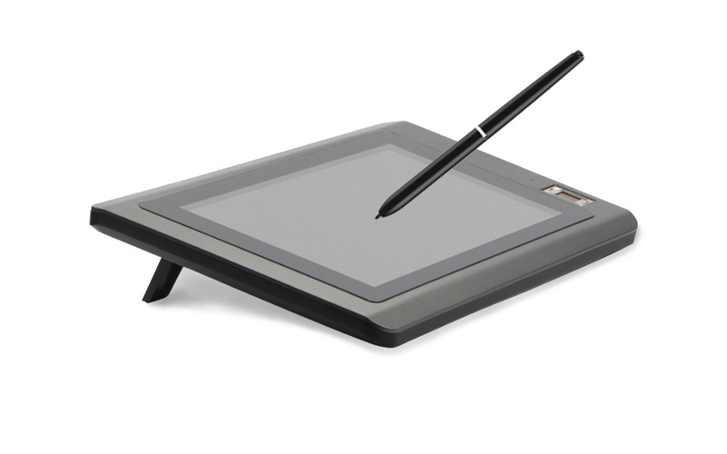 Ugee-101 Inch Electronic Signature Pad With Fingerprint Identification-3