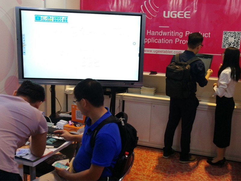 Ugee-News | Ugee In Hktdc Hong Kong Electronics Fair autumn Edition-2