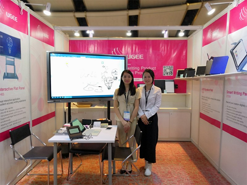 Ugee-News | Ugee In Hktdc Hong Kong Electronics Fair autumn Edition-3