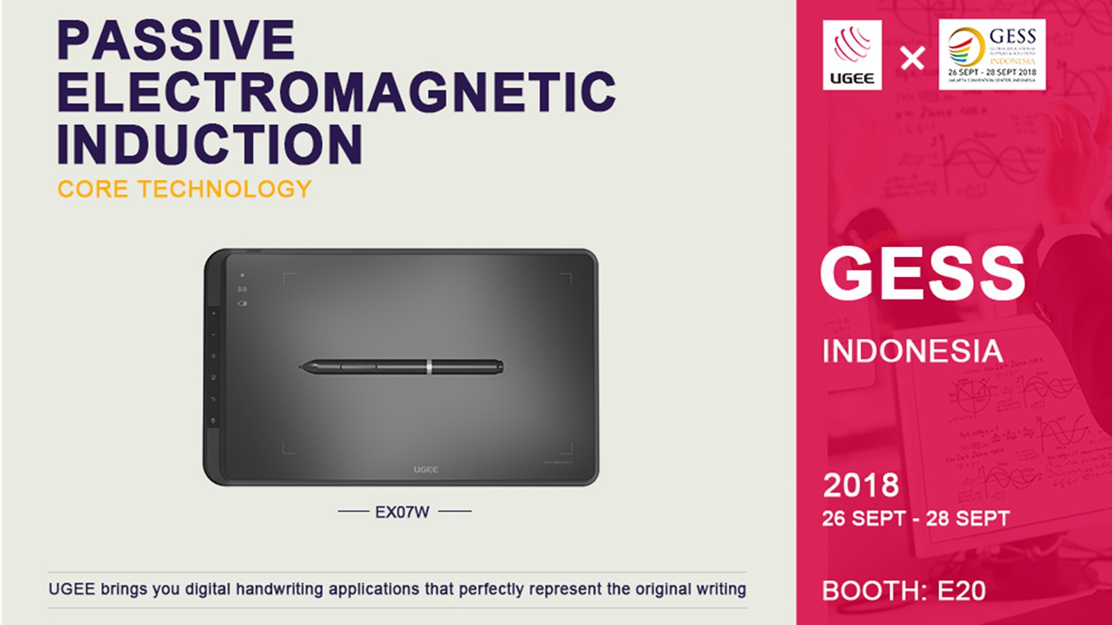 Ugee-Manufacturer Of Windows 8 Tablet Will Attend In Gess Indonesia