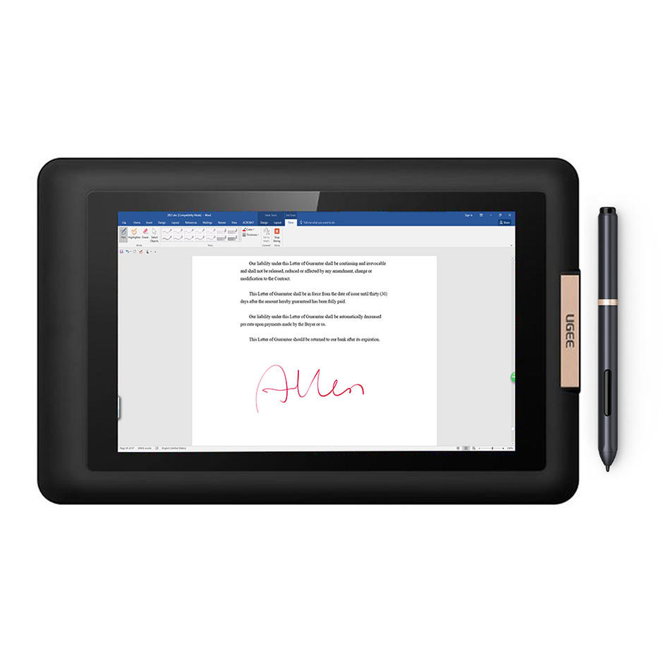 13.3 inch IPS Screen Electronic Signature Pad UG1330