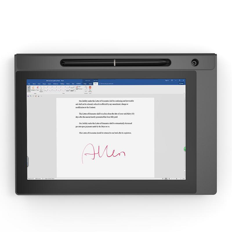 10'' Display Electromagnetic Digital Signature Pad UG1020
