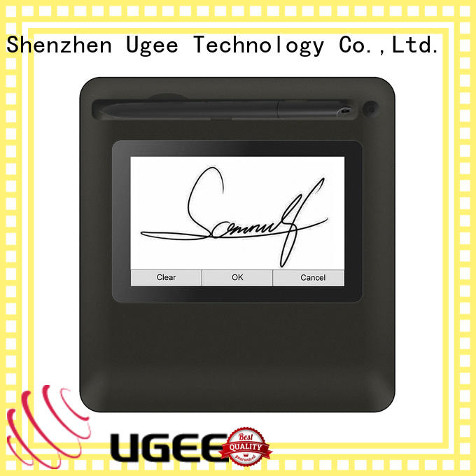 Ugee signature pad sign pad for meeting