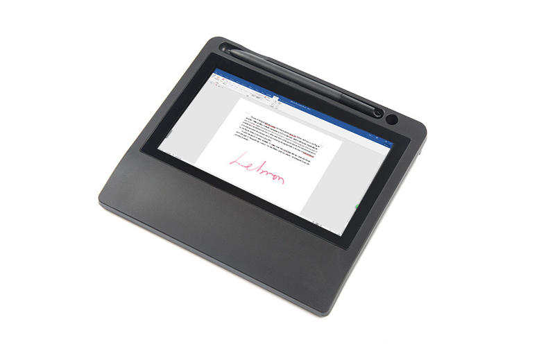 Ugee-7 Inch Tft Lcd Electromagnetic Electronic Signature Pad With Stylus Ug07-2