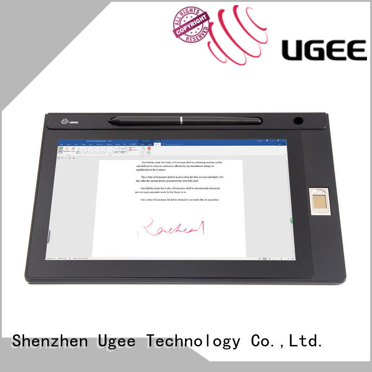 Ugee best signature capture pad factory price for meeting
