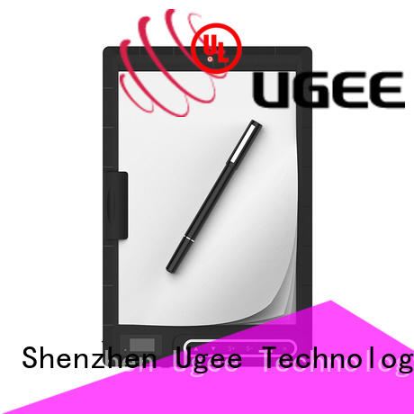 Ugee digital writing set energry saving for micro-course