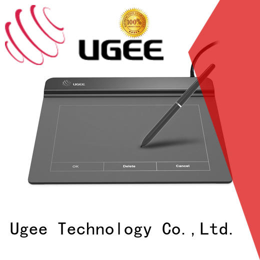 Ugee professional LCD signature pad sign pad for commercial activity