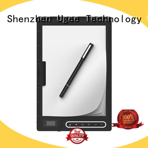 Ugee high quality best digital handwriting pads energry saving for office meeting