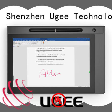 Ugee best signature pad for pc sign pad for conference