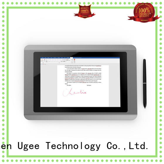signature pad demo ug101nf for commercial activity Ugee