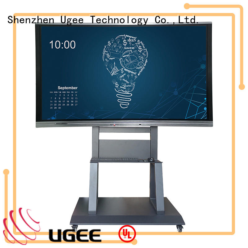 Ugee interactive panel from China for Business Hall