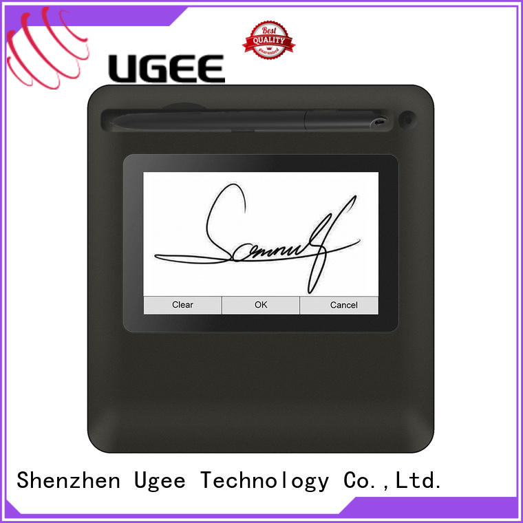 Ugee practical signature pad for pc sign pad for conference