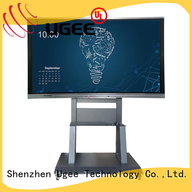 Ugee technical interactive wall panels for Business Hall