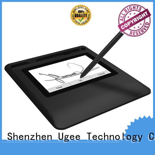 size ios fingerprint Ugee Brand handwriting tablet