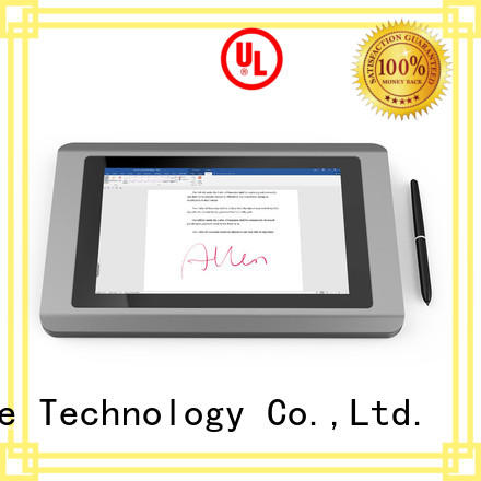 Ugee best LCD signature pad fingerprint for office