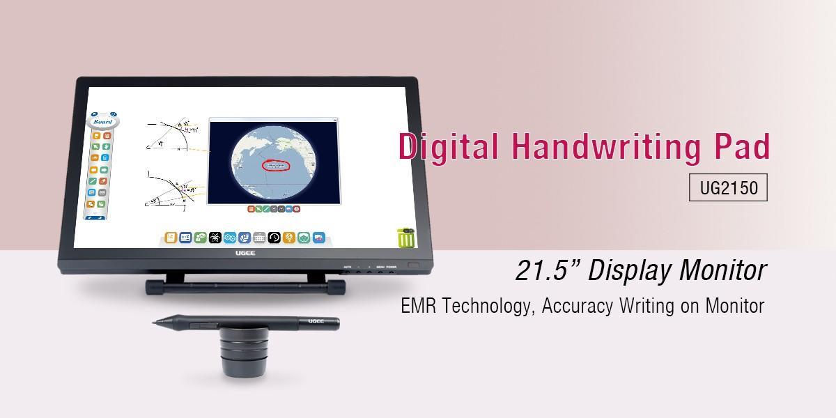 Ugee-215 Inch Ips Lcd Screen Digital Handwriting Pad Monitor Ug2150 | Writing