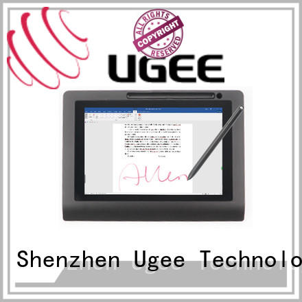 Ugee highlights signature capture pad on sale for meeting